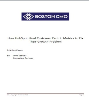 USe Customer Centric Metrics